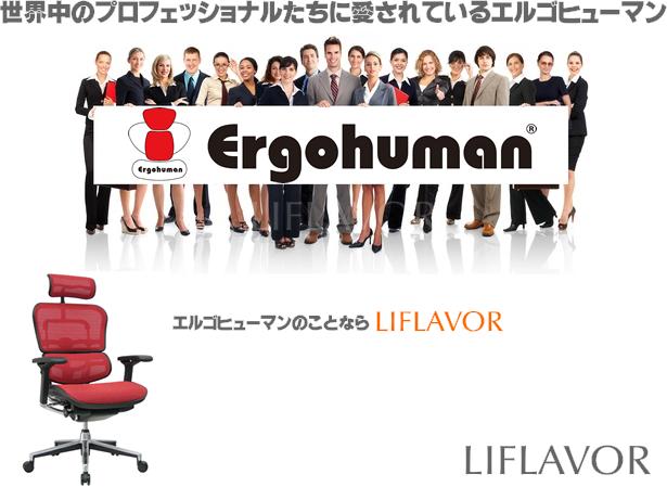 【ライフレーバー】Ergohuman/エルゴヒューマン